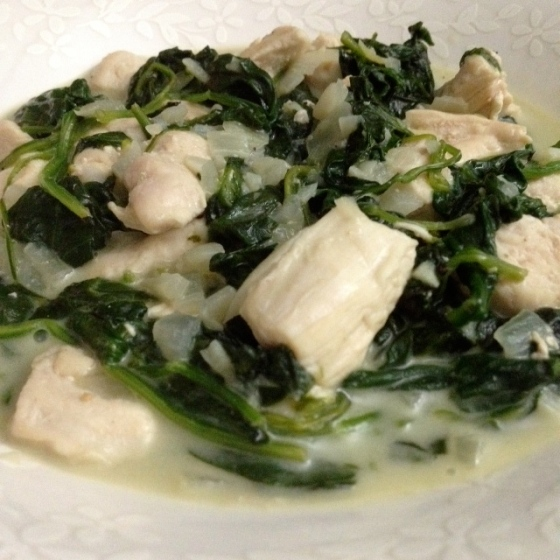 Coconut Chicken & Spinach